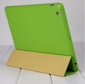New-Jisoncase-Green-High-Quality-Micro-Fiber-Case-Cover-For-Apple-iPad-2-amp-3rd