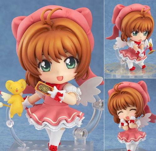 Nendoroid #400 Cardcaptor Sakura Sakura Kinomoto PVC Anime Figure Toy Gift