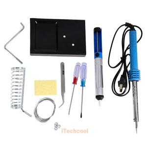 9in1-60W-Electric-Soldering-Tools-Welding-Kit-Set-w-Iron-Stand-Desoldering-Tool