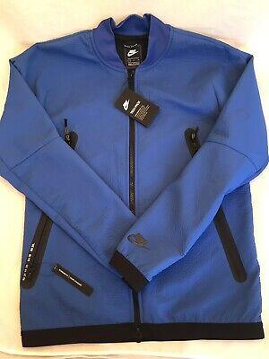 Nike Sportswear Tech Pack Tissé Veste de survêtement NSW 928561 480 Bleu Noir Homme S M   eBay