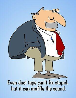 We can/'t fix stupid but we can sedate it Fridge MAGNET Humor Funny nurse medical