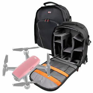Image Is Loading Black Backpack W Raincover For The DJI Spark