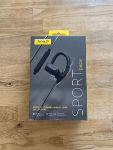 Jabra Sport Pace Wireless In Ear Headphones Black Ebay