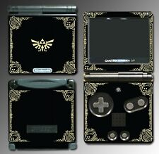 Zelda Golden Triforce Special Game Decal Skin Nintendo Game Boy Advance GBA SP