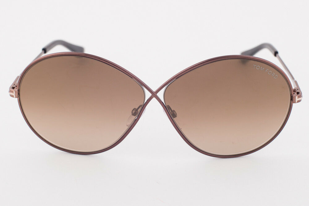 6777a27947b4 Tom Ford Womens Rania Mirrored Oversized Round Sunglasses 65mm for ...