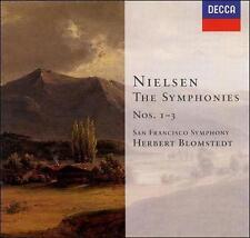 Nielsen: Symphonies Nos. 1-3 (CD, Sep-1999, 2 Discs, Decca)
