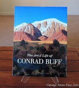 The-Art-and-Life-of-Conrad-Buff-by-Libby-Buff-and-George-Stern-Hardcover