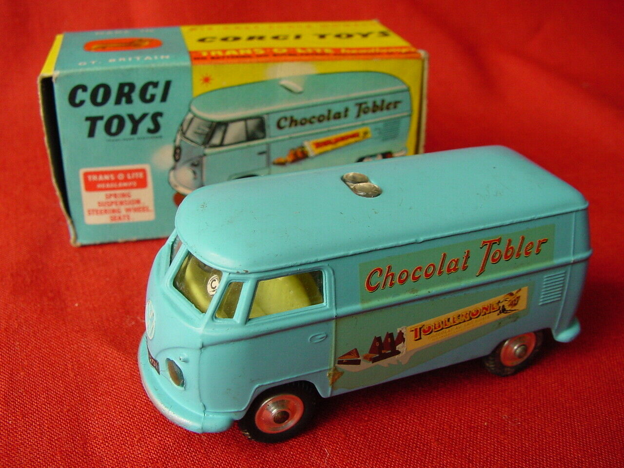CORGI 441 VOLKWAGEN TOBLERONE VAN - 100% ORIGINAL 1963 (see my other items)