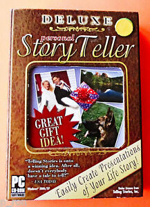 Deluxe-Personal-Story-Teller-NEW-Sealed-Boxed-CD-Rom-FREE-Shipping
