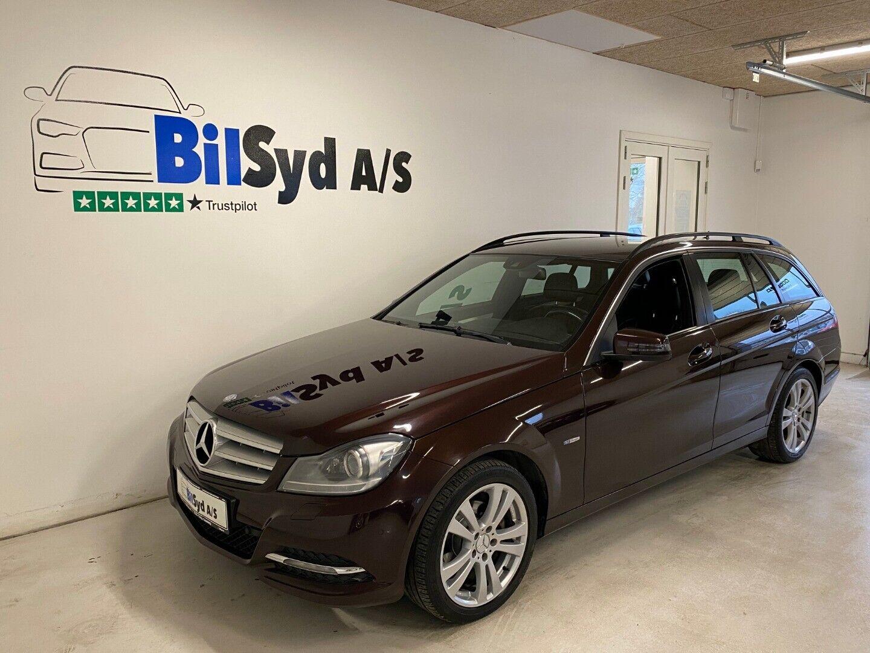 Mercedes C200 2,2 CDi Avantgarde stc. aut. BE 5d - 189.980 kr.