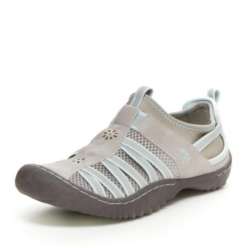 JBU by Jambu Women/'s Arabella Slip-On Trail Shoe Light Grey//Mint