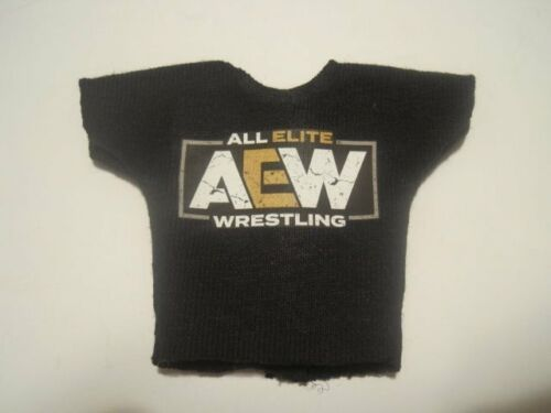 WWE AEW Mattel Elite Custom ALL ELITE WRESTLING Shirt