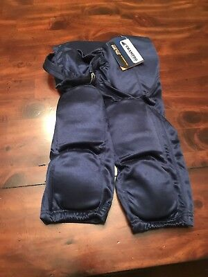 Champro Dazzle Football Integrated Game Pants Navy Youth and Adult NEW