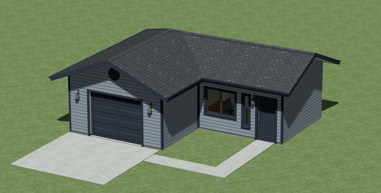 SINGLE GARAGE PLANS PLANS PLANS WITH OFFICE BY DESIGNERSWEST 618ba9