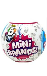 5 SURPRISE 100/% REAL AUTHENTIC MINI BRANDS NEW 2019 5 BALLS MADE BY ZURU