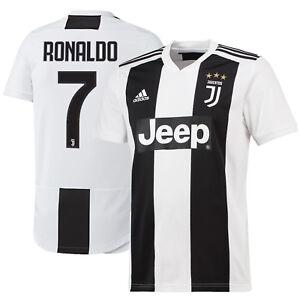 57dcbe469e041 adidas Juventus 2018 - 2019 C. Ronaldo   7 Home Soccer Jersey CR7 ...