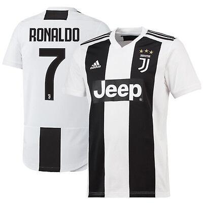 SPECIALJS #7 Ronaldo Special Jersey Juventus Home for Kids Youth