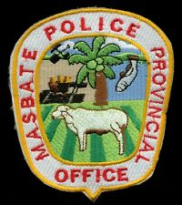 Masbate Philippine Philippines National Police Patch RP-2