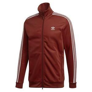 Détails sur Adidas Originals Homme Beckenbauer Veste rouille rouge bordeaux rétro vintage NEUF afficher le titre d'origine