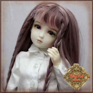 WD0018A-PINK-LONG-HAIR-DOLL-WIG-BRAIDS-RUBY-RED-GALLERIA-LIA-YUMI-12-034-INMOTION