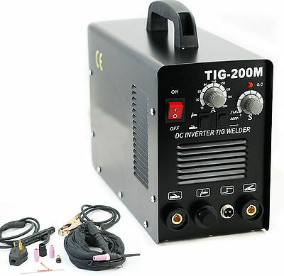 2 in 1 TIG DC PULSE FREQUENCY HF WELDER 200 AMP MOSFET  INVERTER MMA ARC STICK