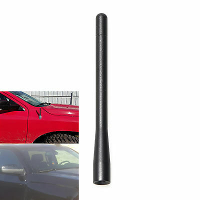 For GMC Sierra 2500HD 2007-2018 Black Short Antenna Replacement FM//AM Receiver