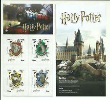 Portugal 2019 - Harry Potter booklet Houses Symbols