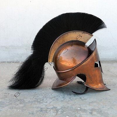COLLECTIBLES MEDIEVAL ROMAN SPARTAN HELMET,KING 300 LEONIDAS ARMOR LARP HELMET