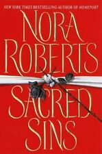 Sacred Sins by Nora Roberts (2000, Hardcover)