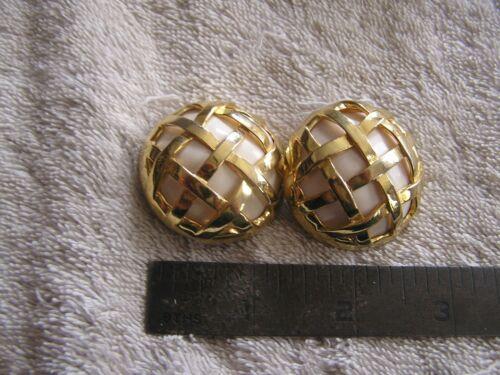 Big Gaudy Spring Handmade Pin w Clip Earrings to Match Goldtone Metal Set Rhinestones /& Blue Enamel Tulips...Plus