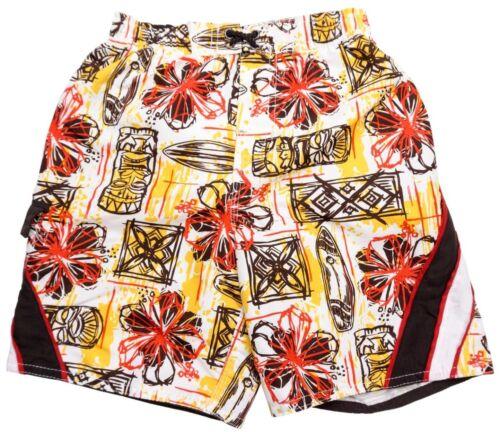 OP Ocean Pacific Board Shorts Swimming Trunks Hawaiian Kids 3T 4T Mesh Lining