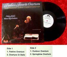 LP Arthur Fiedler Boston Pops Fiedlers Favorite Ouvertu