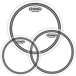 Evans-EC2-SST-Clear-Drum-Head-Pack-Fusion-10-12-14