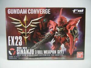 FW GUNDAM CONVERGE EX23 Sinanju FULL WEAPON 1 pieces Candy Toys /& Mobile gum