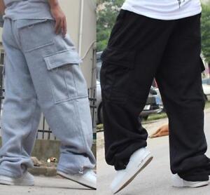 pantaloni da pantaloni larghi hip Pantaloni hop sportivi casual larghi uomo larghi zfw5Sq