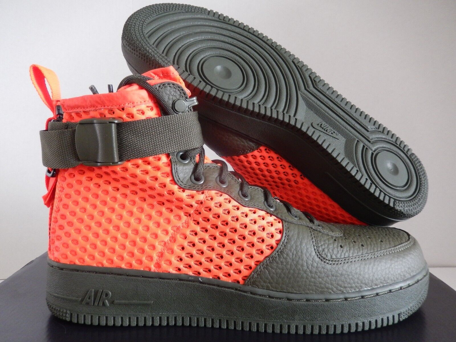 NIKE AIR FORCE 1 SF AF1 MID QS CARGO-CRIMSON  SPECIAL FIELD  SZ 15 [AA7345-300]
