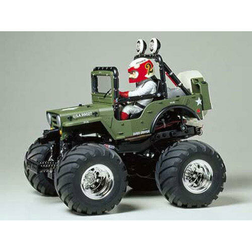 TAMIYA RC 58242 Wild Willy 2 WR-02 1 10 Assembly Kit