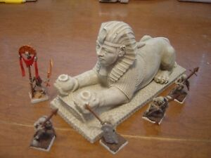 Egyptian-Sphinx-D-amp-D-Aegyptus-Empire-of-Dust-Kings-of-War-Gaming-Painted