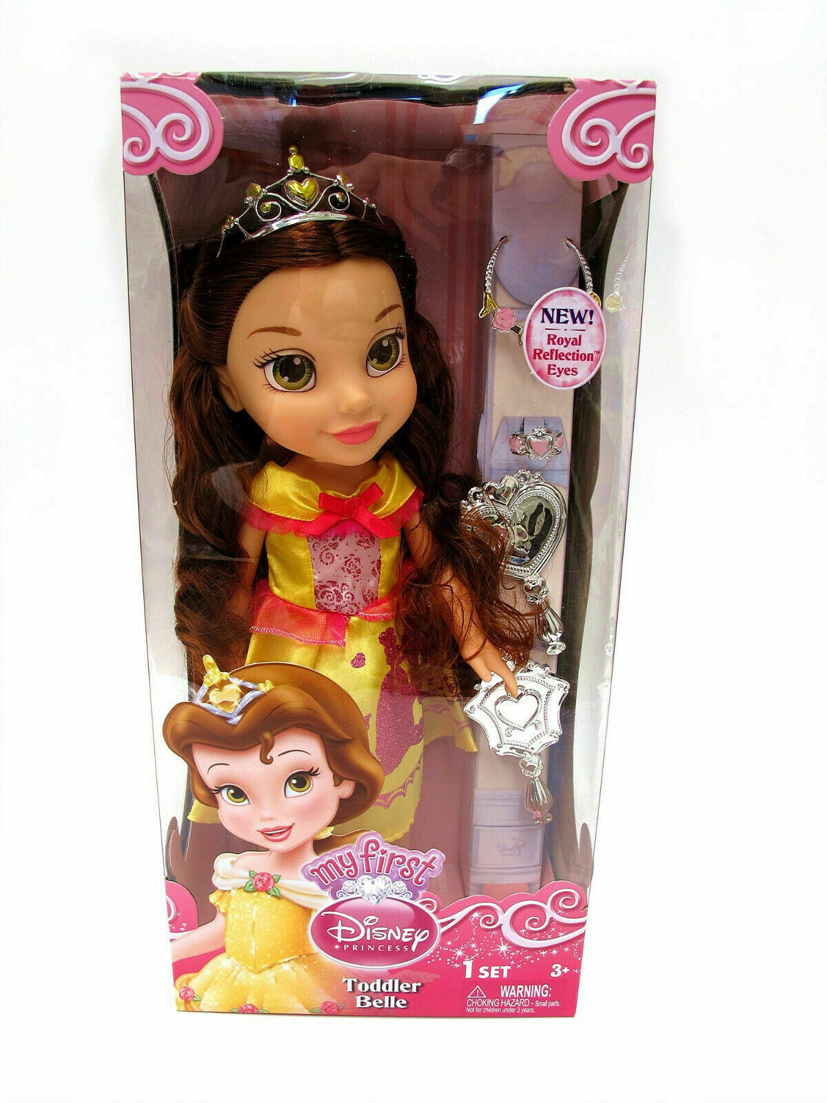 33CM MY FIRST DISNEY PRINCESS TODDLER BELLE ACTION FIGURE DOLL GIRL KID GIFT TOY
