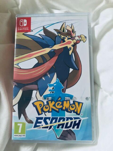 Pokemon Espada - Switch - Nuevo Sellado Cubierta Español - Envio gratis