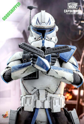 HOT TOYS STAR WARS THE CLONE WARS CAPTAIN REX TMS018 1//6 NEW