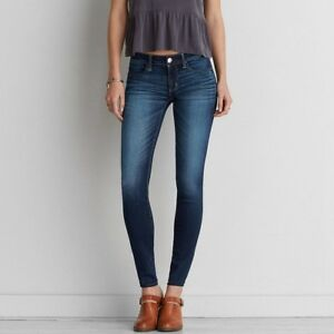 6347364a3a8f13 Image is loading American-Eagle-Outfitters-Super-Stretch-Skinny-Jeggings- Jeans-