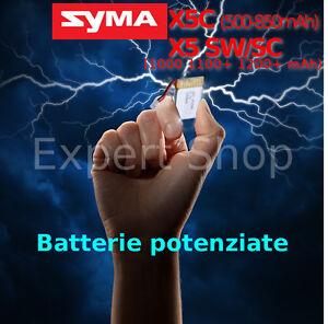BATTERIA-potenziata-SYMA-DRONE-X5C-X5-SW-Cheerson-CX-30RC-JJRCJ-5C-hd-serie-PLUS