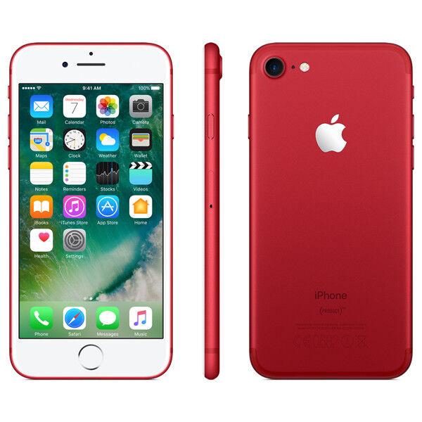 APPLE IPHONE 7 128GB ROSSO °°SIGILLATO°° GRADO A+++ PARI AL NUOVO