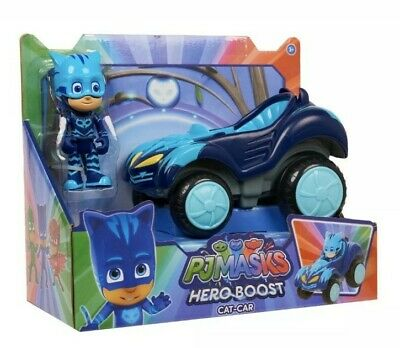 PJ Masks CatBoy Cat Car Figure /& Vehicle Hero Boost Collectible Toy Brand New