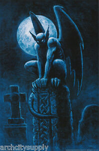 POSTER-FANTASY-NIGHTWATCHER-BY-JOSEPH-VARGO-FREE-SHIPPING-RC26-L