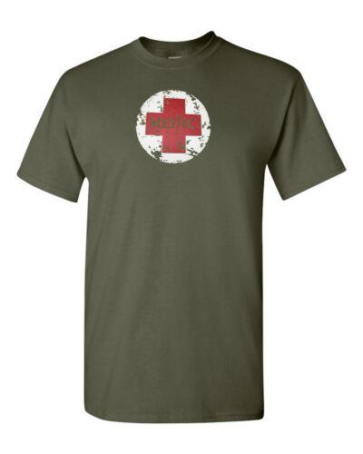 Medic T-Shirt  Emergency Medical Services EMT Shirt  SZ S-5XL
