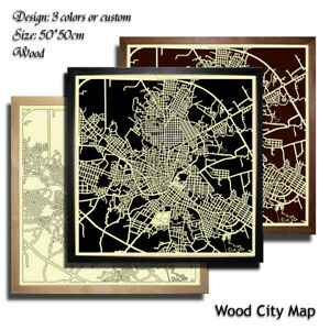 Wood-City-Map-Camaguey-Decor-Picture-Town-Village-Laser-Cut-Wall-Art-50x50-cm