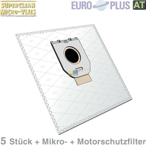 5x sacs pour aspirateur poussière sac filtre sachet Europlus ph1204mv pour u.a philips