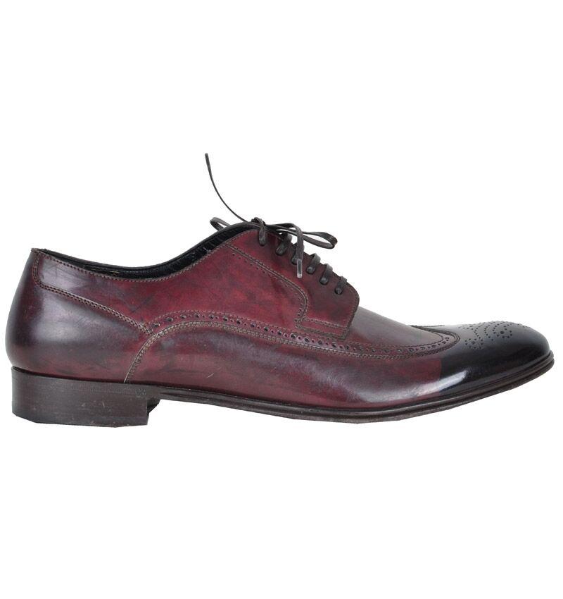 DOLCE & GABBANA RUNWAY Schuhe Braun Schwarz Shoes Brown Black Chaussures 02272